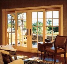 lake house patio door ideas | Ultimate Sliding French Door from Marvin