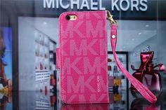 Michael Kors Leder Flip Hand Tasche Handyhülle mit Seil für iphone 5/5S, iphone…