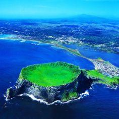 성산일출봉 South Korea Jeju Island  제주특별자치도 서귀포시 성산읍 일출로 284-12