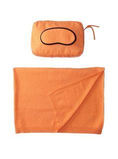 Sofia Cashmere Romagna Jersey Knit Travel Set, Tangerine, http://www.myhabit.com/redirect?url=http%3A%2F%2Fwww.myhabit.com%2F%3F%23page%3Dd%26dept%3Dhome%26sale%3DA3OA9OJDZJ2VKF%26asin%3DB0089J94ZG%26cAsin%3DB0089J94ZG