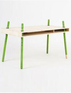 CASPAR height adjustable table - Perludi - Brands Buisjes en Beugels +++ - Fashion, Design and Paraphernalia for Family Life