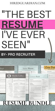 Why you need a Best Resume? Nowadays, Poor quality Resume is a no-no with a recruiter. That is why we are here to help you how to make a resume and what skills to put on resume. This Resume Template Bundle is for College Resume, Social Work Resume, Office manager resume, Marketing Manager Resume or to your own First Resume. This Include Resume Writing Tips all over the Resume. #CollegeResume #Makingaresume #resumetips #resumetemplate #resume