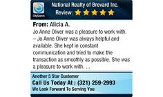 Jo Anne Oliver was a pleasure to work with. -; Jo Anne Oliver was always helpful and...