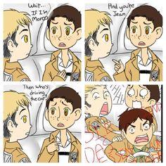 Shingeki no Kyojin (Attack on Titan) I love Marcos face! ♥