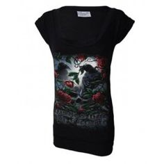 KOKO L 39,90e DS - Nameless Crow Fitted T-Dress