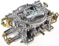 Tri-Power 3X2 SBC INTAKE AND SHINY CARBS KIT | Engine