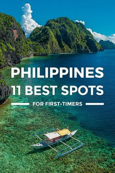 11 Best Places to Visit in the Philippines... Where to go in Philippines. This travel guide blog takes you to top tourist spots, best places to visit, must-see attractions beautiful places for 2017. https://www.detourista.com/guide/philippines-best-places/