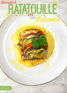 Produce On Parade - Roasted Ratatouille with Polenta