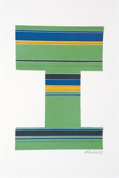 António Palolo Sem título (Verde) Guache sobre papel Fim: 1973 Dimensões: 29 cm x 42 via Museu Coleção Berardo, Lisbon, Portugal