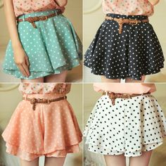 These Polka Dot Skirts are So Stylish and Trendy - http://www.stylishboard.com/polka-dot-skirts-stylish-trendy/