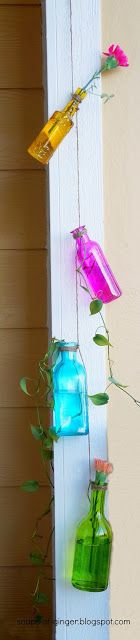 Crafts with Jars: plants in jars
