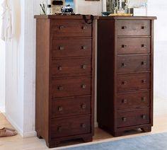 Sumatra Tower Dresser Mahogany Stain Potterybarn
