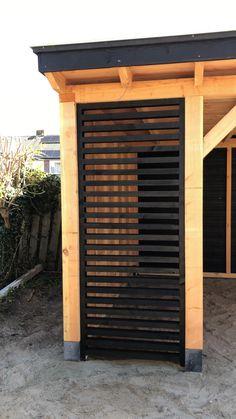 Privacy Screen Outdoor, Outdoor Pergola, Outdoor Rooms, Outdoor Living, Pergola Carport, Pergola Ideas, Backyard Sheds, Backyard Patio Designs, Diy Patio