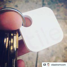 Welcome to Tile! #Repost @olastromcom  Kan nu hitta mina nycklar med en app #tiledit #tiledit  www.thetileapp.com
