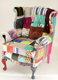patchwork chair - Buscar con Google
