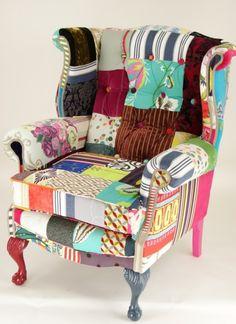 patchwork chair - Buscar con Google