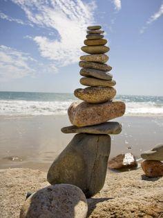 Rocks Balancing at the Beach, Aquinnah, Martha's Vineyard, Ma Photographic Print at AllPosters.com