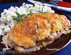 Érdekel a receptje? Kattints a képre! Hungarian Recipes, Lasagna, Family Meals, Macaroni And Cheese, Food To Make, Pork, Lunch, Homemade, Chicken