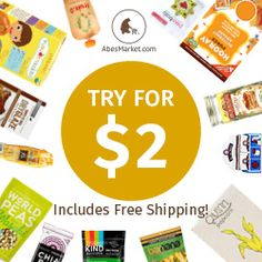 Full Size Samples at Abe's Market for $2  Free Shipping