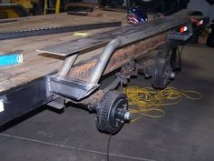 I am widening a trailer for my truck and would like to see some ideas on drive over fenders? Sorry if you think i am in the wrong forum, it just seems that. Car Hauler Trailer, Equipment Trailers, Dump Trailers, Custom Trailers, Cargo Trailers, Utility Trailer, Work Trailer, Trailer Diy, Off Road Trailer
