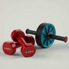 3d модели: Спорт - Ролик и гантели