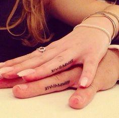 Him & Her #tatto