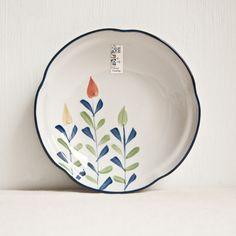 Aliexpress.com: Comprar F zakka japonés ciruela en forma de cerámica plato platos hechos a mano de cerámica de cerámica viento disco de plato de pescado plato de recipiente de 6 fiable proveedores en Ceramic club
