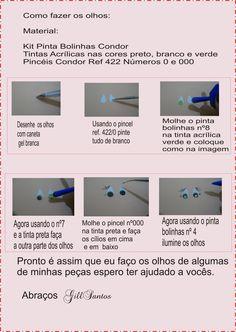 gillsantos.blogspot.com: Dica de como fazer olhos