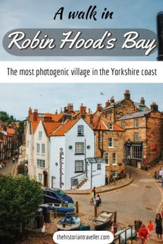 A walk in Robin Hood's Bay: the most photogenic village in North Yorkshire. Cornwall England, Yorkshire England, Yorkshire Dales, North Yorkshire, Visit Yorkshire, Oxford England, London England, York England, Highlands Scotland
