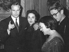 Photo of At a party with Movita early in their relationship. James Dean was also in attendance. for fans of Marlon Brando.