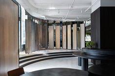 Woodcut Showroom in Sydney's Waterloo by Mim Design