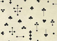 card house print by Elisabeth Dunker