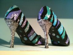 love! so expensive though. need to learn how to paint shoes like this girl does..