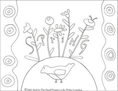 Bird In The Hand Primitives: A new FREEBIE ! and Some other talented gals...