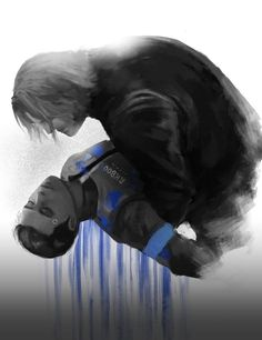 Detroit become human Connor and Hank By: @abco414