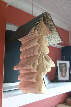 Hanging book decoration