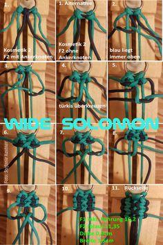 Paracord Bracelet Designs, Paracord Bracelets, Paracord Ideas, Diy Dog Collar, Dog Collars, Fishtail Bracelet, Swiss Paracord, Solomon, Plant Hanger