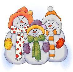 Bonecos de Neve - A Minha Esfera