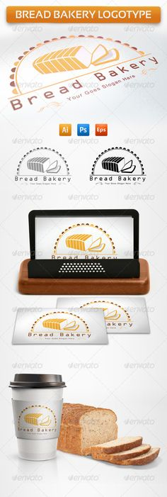 Bread Bakery Logotype  #GraphicRiver         L
