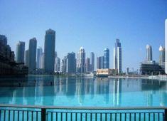 30 acre Burj Khalifa Lake Dubai Mall, United Arab Emirates, Burj Khalifa, Shopping Mall, Uae, New York Skyline, World, Travel, Lakes