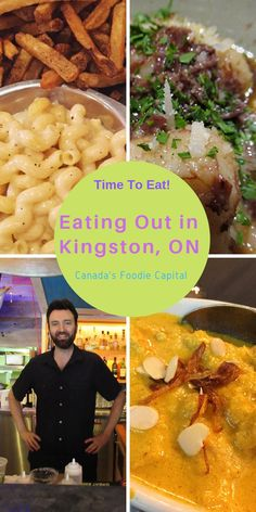 Kingston has more restaurants per capita than any other city in Canada - here are our favourite foodie spots. Kingston Canada, Kingston Ontario, Ontario Travel, Canada Destinations, Canadian Travel, Visit Canada, Good Foods To Eat, Time To Eat, Canada