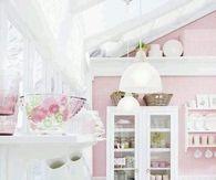 Lovely Pink Kitchen