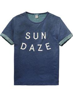 Lightweight T-Shirt  Jersey s/s tee's & tops Men Clothing at Scotch & Soda