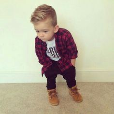 +> 93 cute toddler hairstyles for boys and girls - hairstyles - Rund ums Kindal_title] - Baby Outfits Cute Toddler Hairstyles, Baby Boy Hairstyles, Toddler Boy Haircuts, Black Hairstyles, Little Boy Haircuts Fade, Toddler Undercut, Kids Hairstyles Boys, Outfits Niños, Baby Boy Outfits