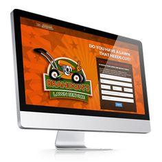 Kids Lawn Care Scheduling Website