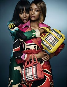 Naomi Campbell and Jourdan Dunn star in the new Burberry Spring/Summer 2015 campaign Shot by Mario Testino -My two favorite models- Mario Testino, Spring 2015 Fashion, Spring Summer 2015, Fashion Week, Fall 2015, Fashion Trends, Naomi Campbell, Cara Delevingne, Burberry Prorsum