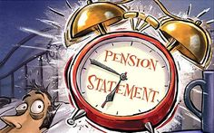 Almost half have never reviewed their pension.