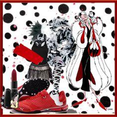 Cruella DeVille - http://www.team-sparkle.com/2012/09/cruella-deville-running-costume/