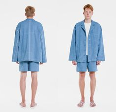 Tigran Avetisyan Moscow Russia 2015 Spring Summer Mens Lookbook Presentation - Duty Free Print Motif Graphic Oversized Coat Outerwear Robe Cloak Culottes Gauchos Wide Leg Pants Trousers Jacket Shorts Slippers Loungewear Sleepwear Grunge Abstract