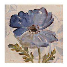 Blue Blossom II Canvas Art Print   Kirklands